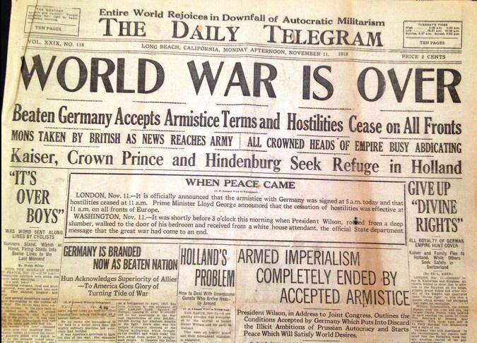 WW1 Armistance Propaganda